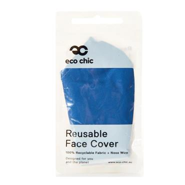 ECO CHIC BLUE FACE COVER