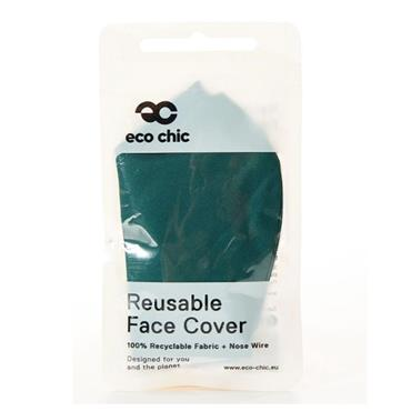 ECO CHIC GREEN REUSABLE FACE COVER