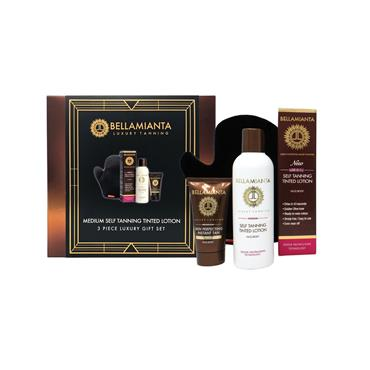 BELLAMIANTA MEDIUM SELF TANNING SET