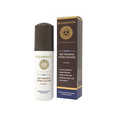 BELLAMIANTA RAPID SELF TANNING TINT