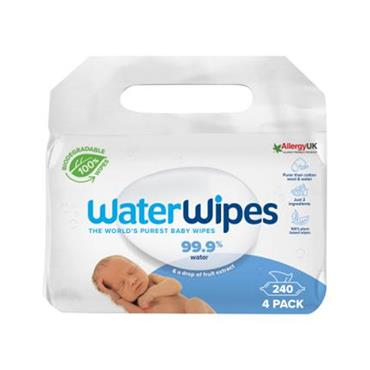 WATERWIPES 4PACK