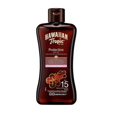 HAWAIIAN TROPIC DRY OIL SPF 15