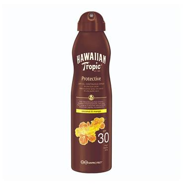 HAWAIIAN TROPIC SPRAY 30 COCONUT & MANGO 180ML