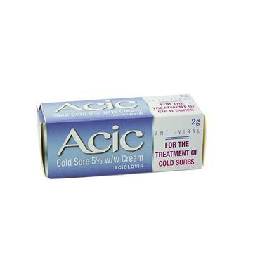 ACIC 5% COLD SORE CREAM