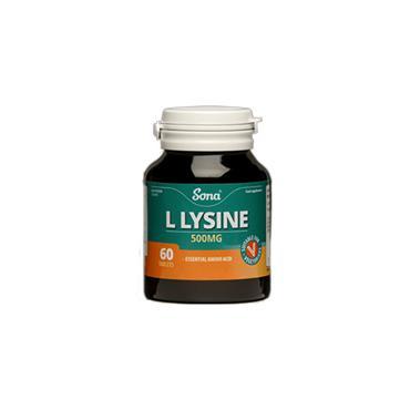 L-LYSINE 500MG 60'S