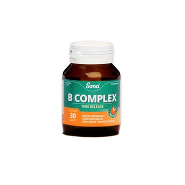 B-COMPLEX TIME RELEASE 30S