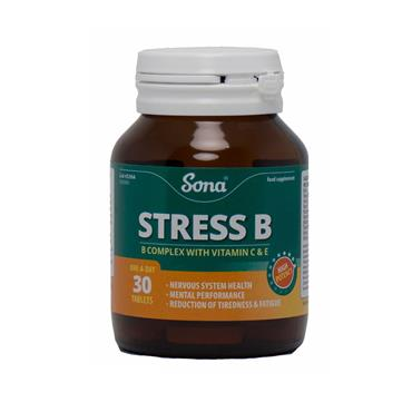 STRESS B - B COMPLEX WITH VITAMIN C & E 30'S