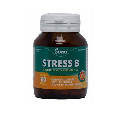 STRESS B - B COMPLEX WITH VITAMIN C & E 60'S