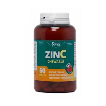 CHEWABLE ZINC 60'S