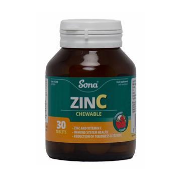 CHEWABLE ZINC 30'S