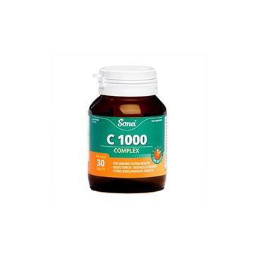 VITAMIN C 1000 COMPLEX 30'S