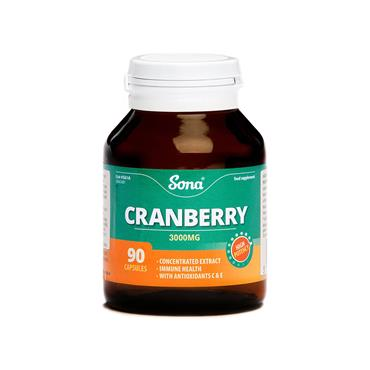 CRANBERRY 3000MG 90'S