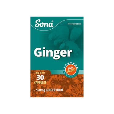 GINGER CAPSULES 30'S