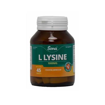 L-LYSINE 1000MG 45'S