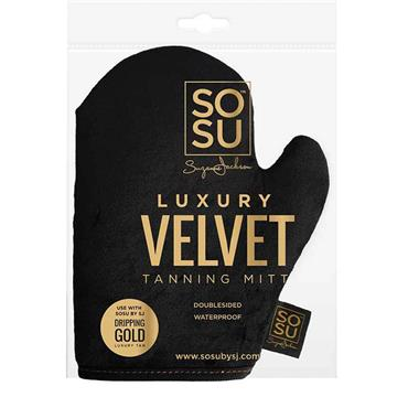 SO SUE LUXURY VELVET TANNING MITT