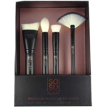 SO SUE MAKE UP BRUSHES DETAIL COLLECTION