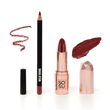 KISS ME LIP KIT WILD THING