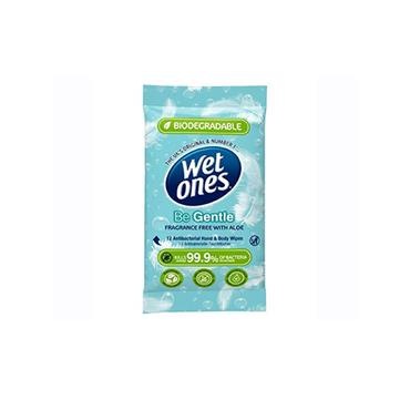 WET ONES BE GENTLE ANTI-BAC WIPES