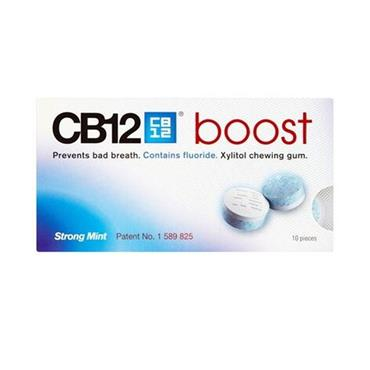 CB12 BOOST GUM STRONG MINT