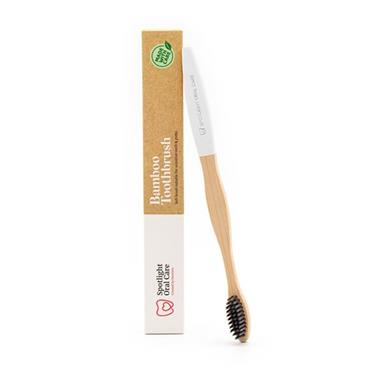 WHITE BAMBOO TOOTHBRUSH