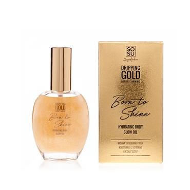 DRIPPING GOLD BORN TO SHINE BODY GLOW OIL