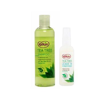 KELKIN TEA TREE SHAMP & COND PACK
