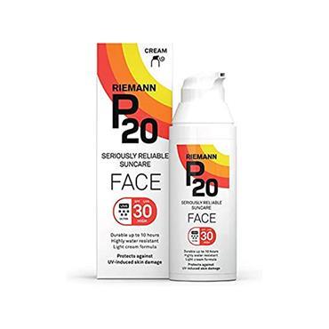 P20 FACE SUNCREAM SPF30