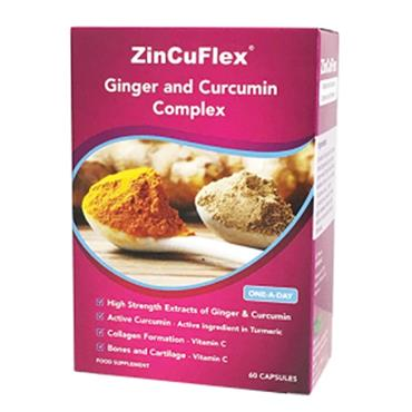 GINGER AND CURCUMIN COMPLEX 30 CAPSULES