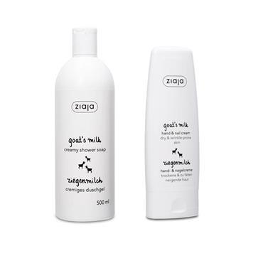 GOATS MILK SHOWER SOAP + HAND CREAM FREE