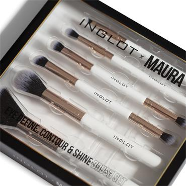 MAURA COLLECTION - EYE DEFINE CONTOUR & SHINE BRUSH SET