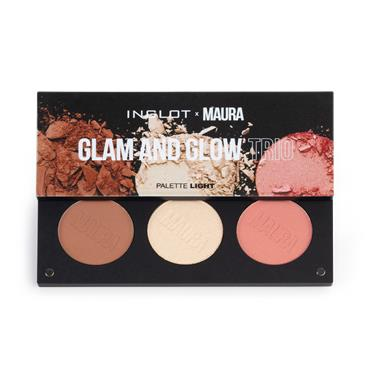 MAURA COLLECTION - GLAM & GLOW TRIO LIGHT PALETTE