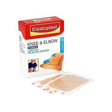 ELASTOPLAST FABRIC KNEE + ELBOW 10PK