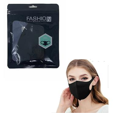 FASHION FACE MASK - BLACK