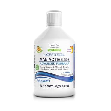 MEN ACTIVE 50+ 500ML