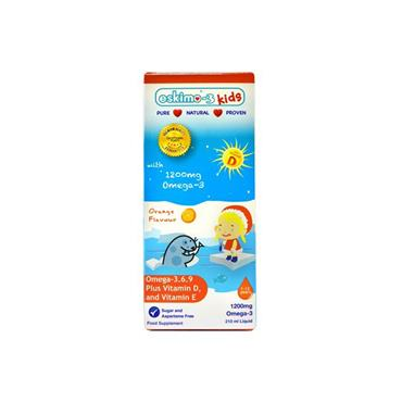 KIDS OMEGA 3 SUPPLEMENT WITH VITAMIN D & E