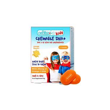 ESKIMO-3 KIDS CHEWABLE DHA+ 27S