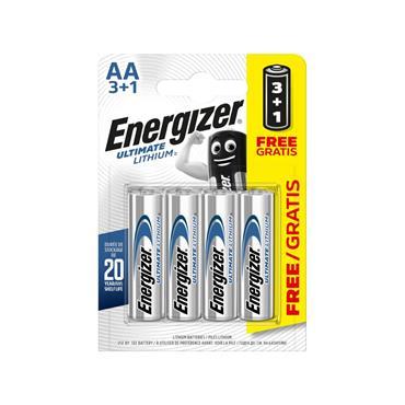 ENERGIZER AA 3+1