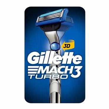 GILLETTE MACH 3 TURBO RAZOR