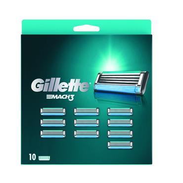 GILLETTE MACH 3 10 BLADES