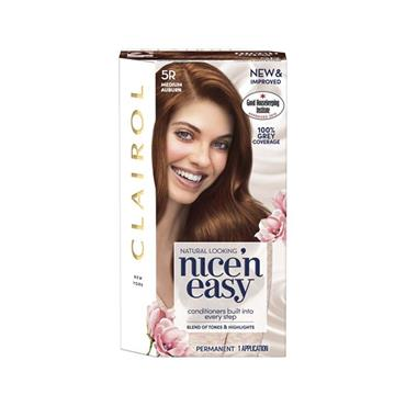 NICE N EASY HAIRDYE 5R MEDIUM AUBURN