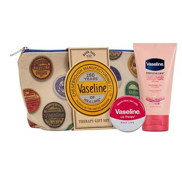 VASELINE 150 YEARS BEAUTY BAG