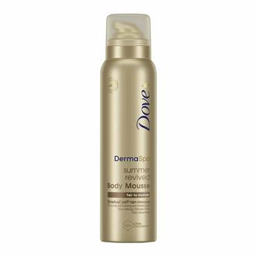 DOVE DERMA SPA SUMMER REVIVED BODY MOUSSE FAIR MEDIUM
