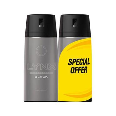 LYNX BLACK DEODORANT DUO PACK