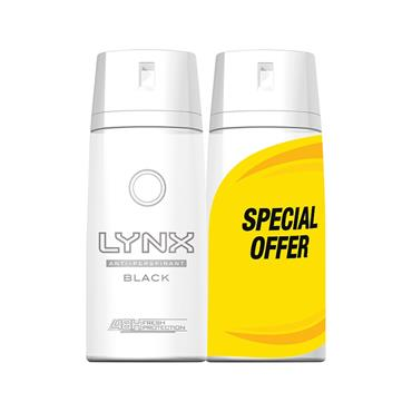 LYNX BLACK DRY ANTI-PERSPIRANT DUO