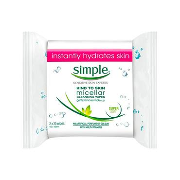 MICELLAR CLEANSING WIPES TWIN PACK