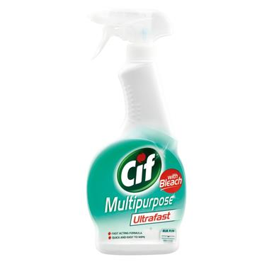 CIF MULTIPURPOSE ULTRAFAST spray With BLEACh