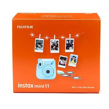 INSTAX MINI 11 SKY BLUE BUNDLE