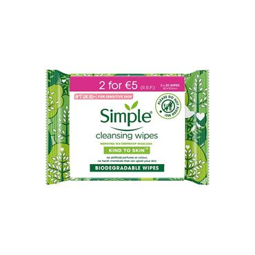 SIMPLE WIPES TWIN PACK