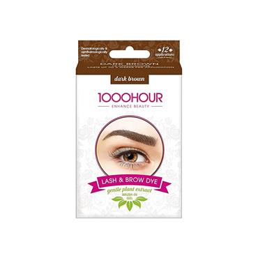 LASH and BROW DYE DARK BROWN