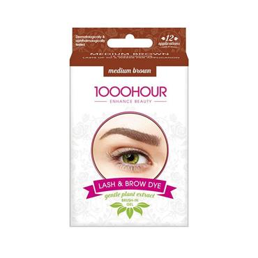 Lash & Brow Dye Medium Brown